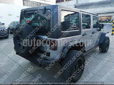 Foto venta Auto Seminuevo Jeep Wrangler Sport MTX 4x4 3.6L (2016) color Gris Acero precio $495,000