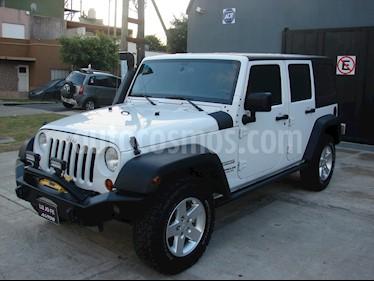 Foto venta Auto usado Jeep Wrangler Unlimited Aut (2013) color Blanco precio u$s34.500