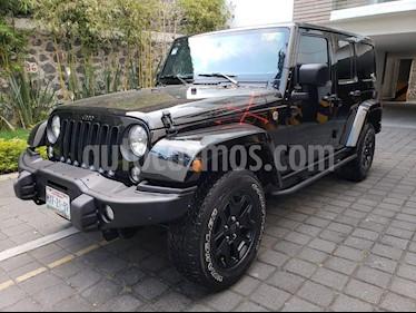 Foto venta Auto Seminuevo Jeep Wrangler Unlimited Backcountry Edition 4x4 3.6L Aut (2016) color Negro precio $560,000