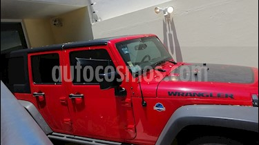 Jeep Wrangler Unlimited Black Bear 4x4 3.6L Aut usado (2016) color Rojo Flama precio $650,000