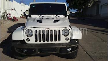 Foto venta Auto usado Jeep Wrangler Unlimited Edicion 75 Aniversario 4x4 3.6L Aut (2016) color Blanco precio $675,000