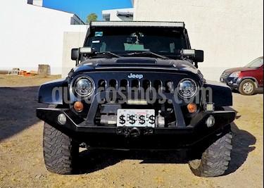 Jeep Wrangler Unlimited JK Sahara 4x4 3.6L Aut usado (2013) color Negro precio $495,000