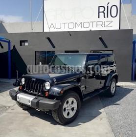 Foto Jeep Wrangler Unlimited JK Sahara 4x4 3.6L Aut usado (2013) color Negro precio $439,000