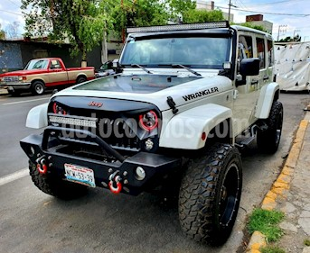 Jeep Wrangler Unlimited Rubicon 4x4 3.8L Aut usado (2016) color Blanco precio $727,000
