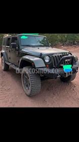 Foto venta Auto usado Jeep Wrangler Unlimited Sahara 4x4 3.6L Aut (2008) color Verde Oscuro precio $365,000