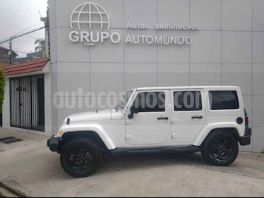 foto Jeep Wrangler Unlimited Sahara 4x4 3.6L Aut usado (2016) color Blanco precio $539,000