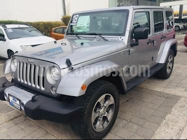 Foto venta Auto usado Jeep Wrangler Unlimited Sahara 4x4 3.8L Aut (2018) color Plata precio $670,000