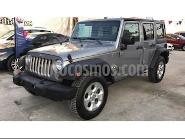 Foto venta Auto Seminuevo Jeep Wrangler Unlimited Sport 4x4 3.6L Aut (2016) color Gris precio $469,000