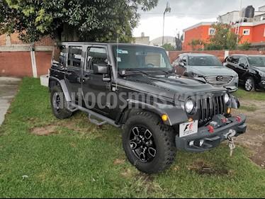 Foto venta Auto usado Jeep Wrangler Unlimited Sport Mountain 4x4 3.6L Aut  (2017) color Gris precio $659,900