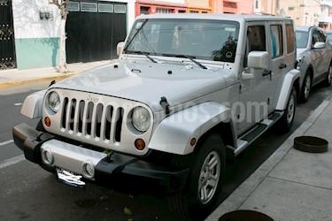 Foto venta Auto Seminuevo Jeep Wrangler Unlimited X 4x2 3.8L Aut (2010) color Plata precio $277,700