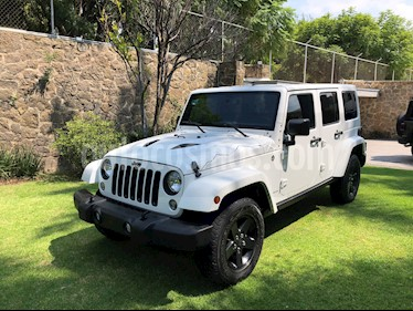 Jeep Wrangler Unlimited X 4x4 3.6L Aut usado (2015) color Blanco precio $515,000