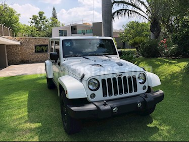 Jeep Wrangler Unlimited X 4x4 3.6L Aut usado (2015) color Blanco precio $530,000