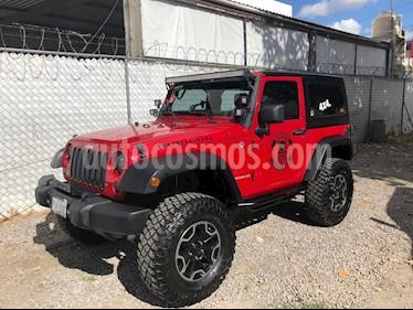 Foto Jeep Wrangler X 4x4 3.8L usado (2011) color Rojo Flama precio $340,000