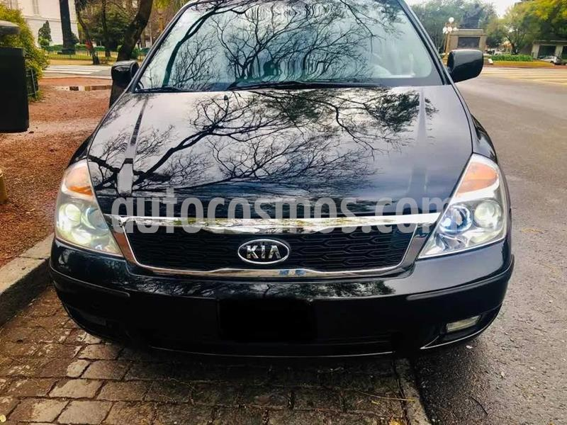 KIA Carnival EX 3.8 V6 Aut usado (2010) color Negro precio u$s10.000