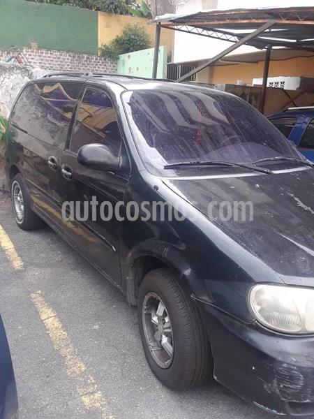 Kia Carnival GS Auto. usado (2002) color Negro precio u$s2.200