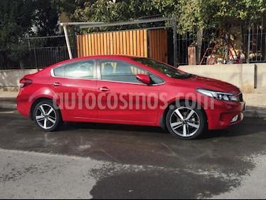 Kia Cerato EX 1.6L 6MT AC ABS usado (2017) color Rojo precio $9.500.000