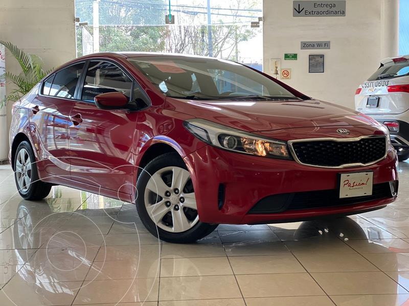 Foto Kia Forte Sedan LX Aut usado (2018) color Rojo precio $195,000
