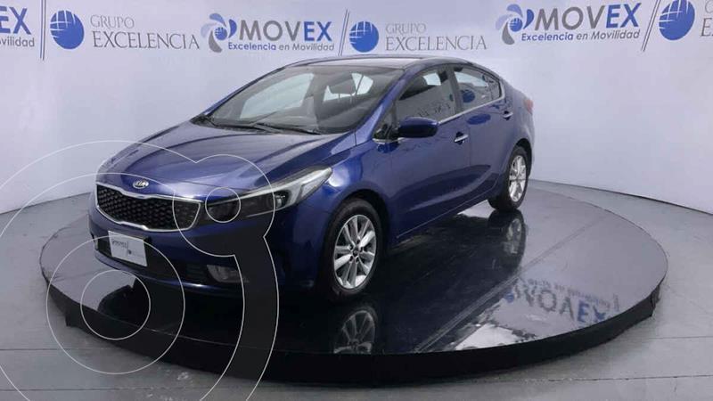 Foto Kia Forte Sedan LX usado (2018) color Azul precio $225,000