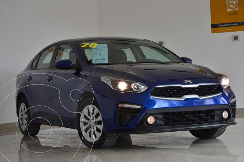 Foto Kia Forte Sedan L Aut usado (2020) color Azul precio $270,000
