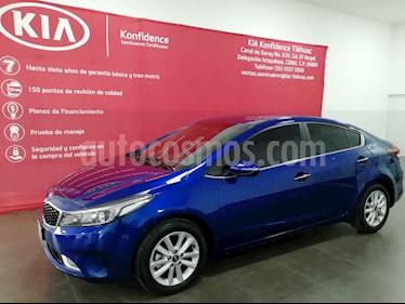 Foto venta Auto usado Kia Forte EX Aut (2018) color Azul precio $275,000