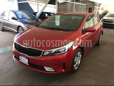 Foto venta Auto usado Kia Forte EX Aut (2017) color Rojo precio $209,000