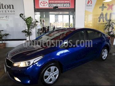 Foto venta Auto usado Kia Forte EX Aut (2017) color Azul precio $209,000