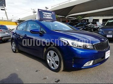 Foto venta Auto usado Kia Forte LX Aut (2018) color Azul Celeste precio $255,000