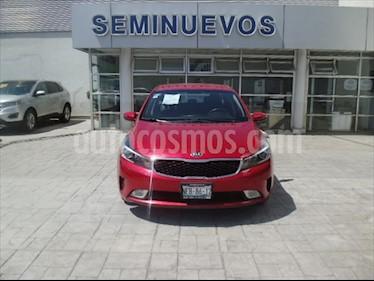 Kia Forte EX usado (2018) color Rojo precio $230,000