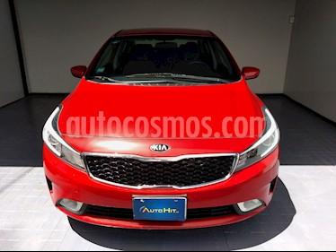 Kia Forte LX Aut usado (2018) color Rojo precio $227,800