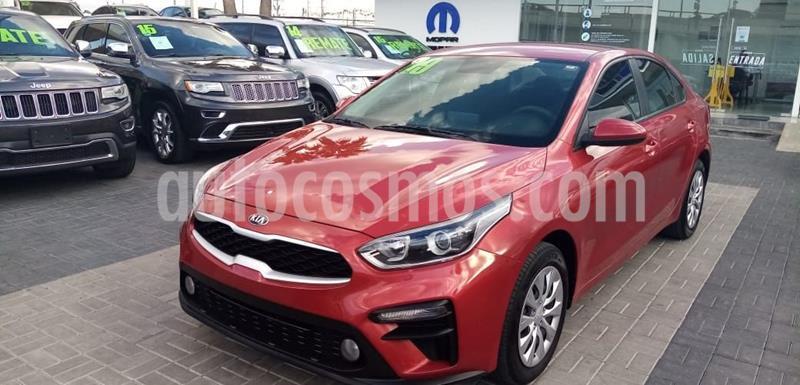 Kia Forte L usado (2019) color Rojo precio $245,000
