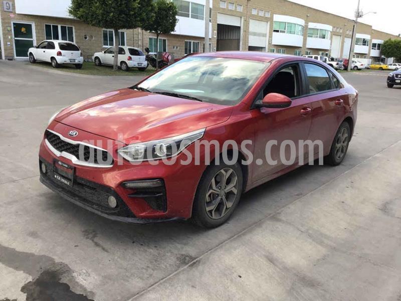 Kia Forte LX usado (2020) color Rojo precio $188,000
