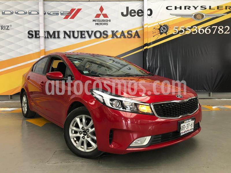 Kia Forte LX usado (2017) color Rojo precio $195,000