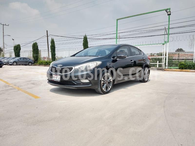 Kia Forte SX Aut usado (2016) color Negro precio $205,000