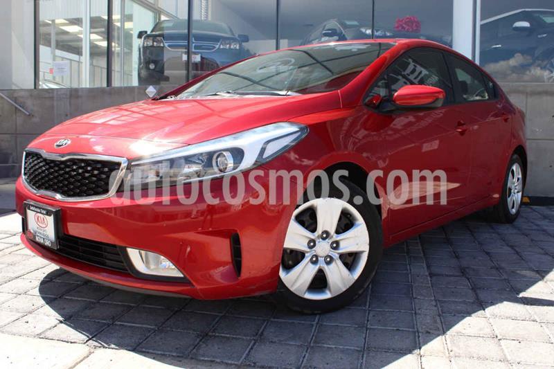 Kia Forte LX usado (2017) color Rojo precio $189,000