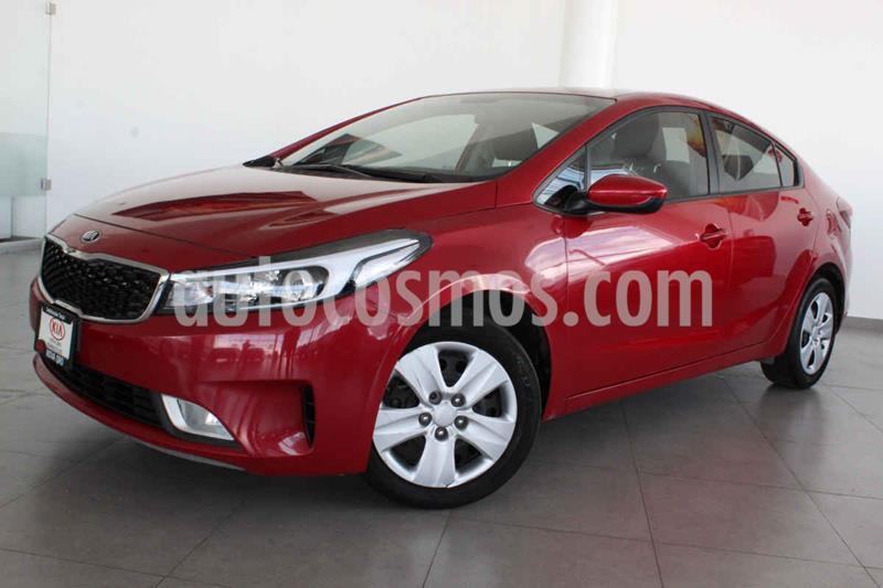 Kia Forte LX usado (2017) color Rojo precio $170,000