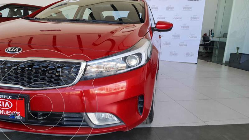 Kia Forte LX Aut usado (2018) color Rojo precio $189,900