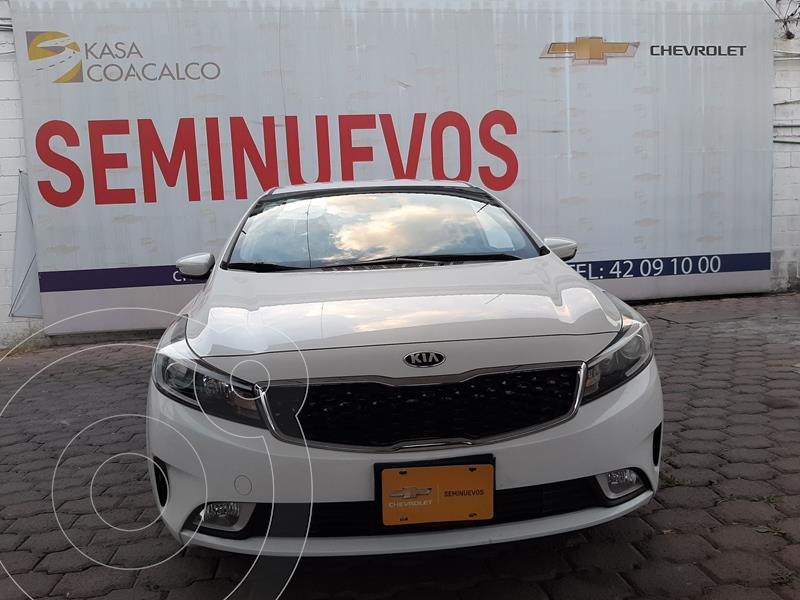 Kia Forte LX usado (2018) color Blanco precio $198,000