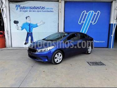 Kia Forte L Aut usado (2018) color Azul precio $88,000