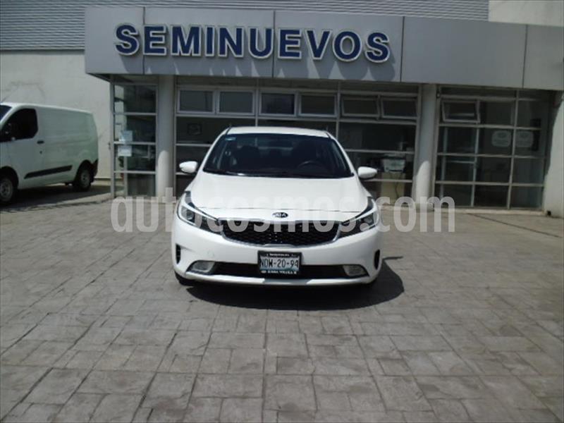 Kia Forte EX usado (2018) color Blanco precio $203,000