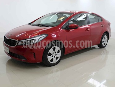 Kia Forte L Aut usado (2018) color Rojo precio $188,000