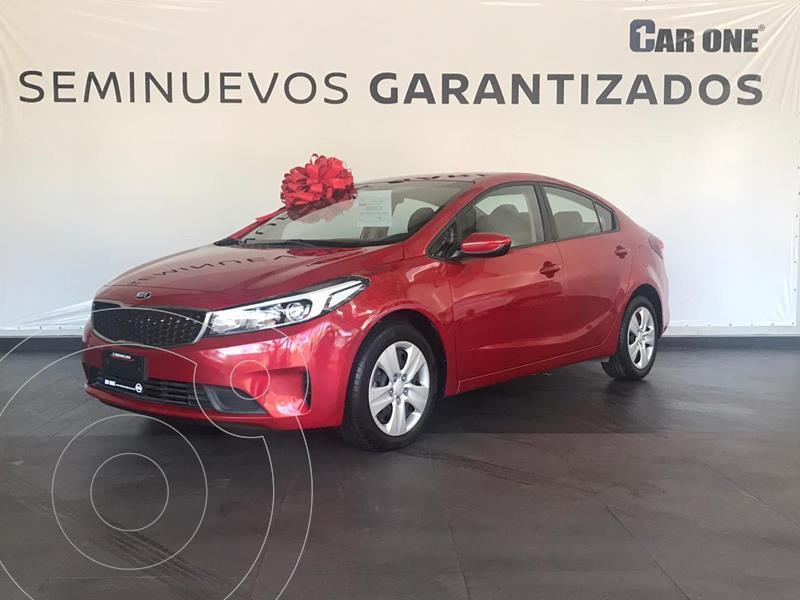 Foto Kia Forte L Aut usado (2018) color Rojo precio $209,900