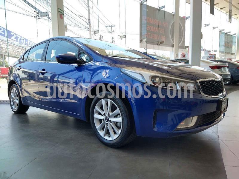 Kia Forte LX usado (2018) color Azul precio $239,900