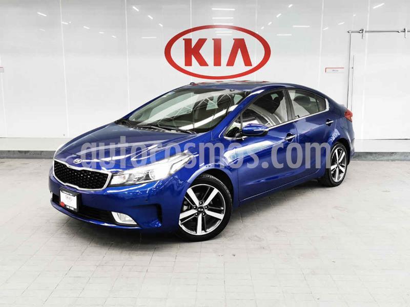 Kia Forte SX Aut usado (2018) color Azul precio $265,000