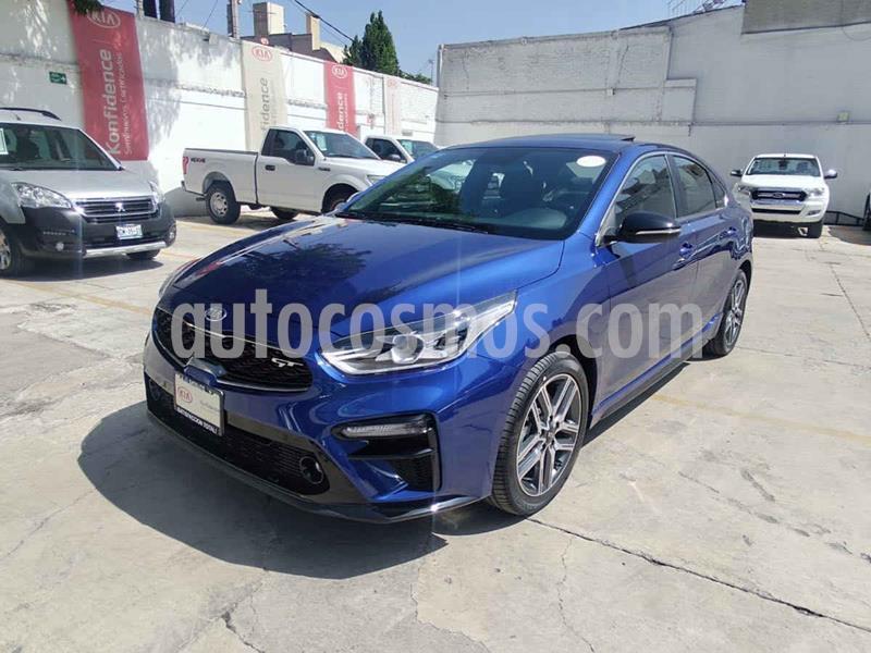 Kia Forte GT Aut Doble Embrague usado (2020) color Azul precio $420,000