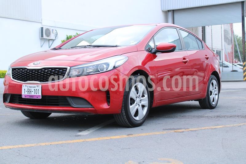 Kia Forte L Aut usado (2018) color Rojo precio $180,000