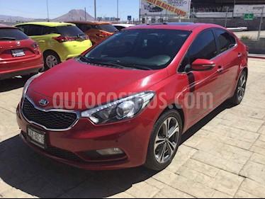 Kia Forte SX Aut usado (2016) color Rojo precio $218,000