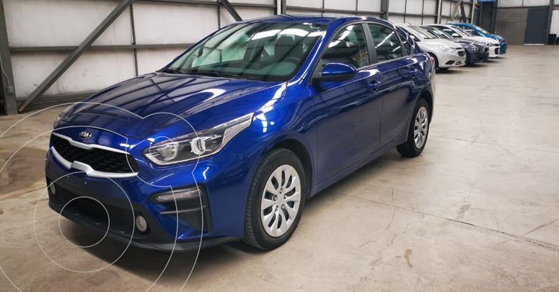 Kia Forte L Aut usado (2020) color Azul precio $247,900