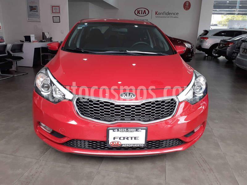 Kia Forte LX Aut usado (2016) color Rojo precio $179,000