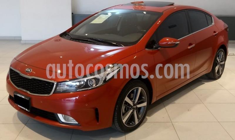 Kia Forte SX Aut usado (2018) color Rojo precio $249,000