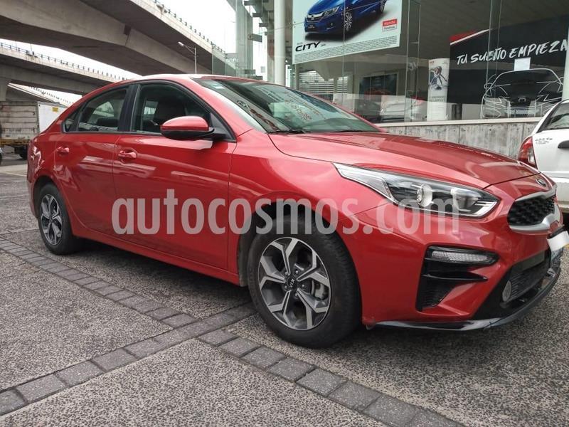 Kia Forte LX usado (2019) color Rojo precio $278,000